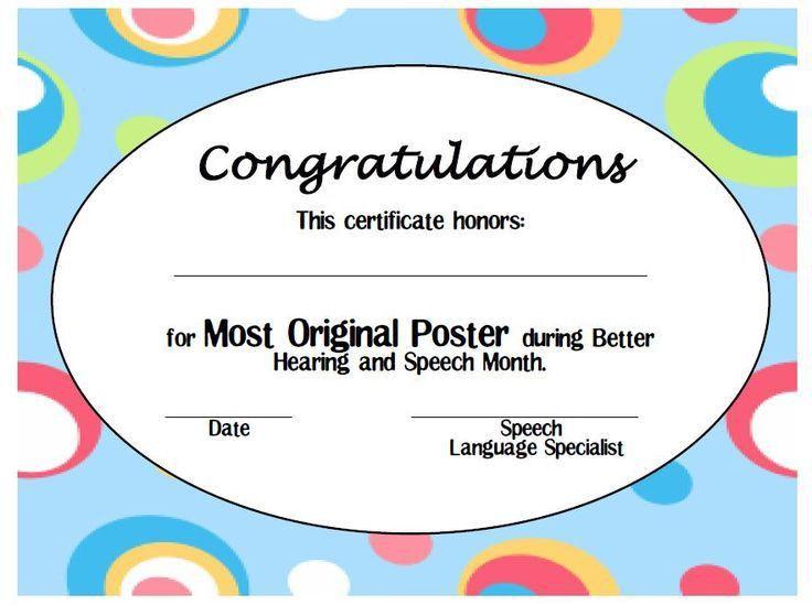 Πάνω από 25 κορυφαίες ιδέες για Printable certificates στο Pinterest