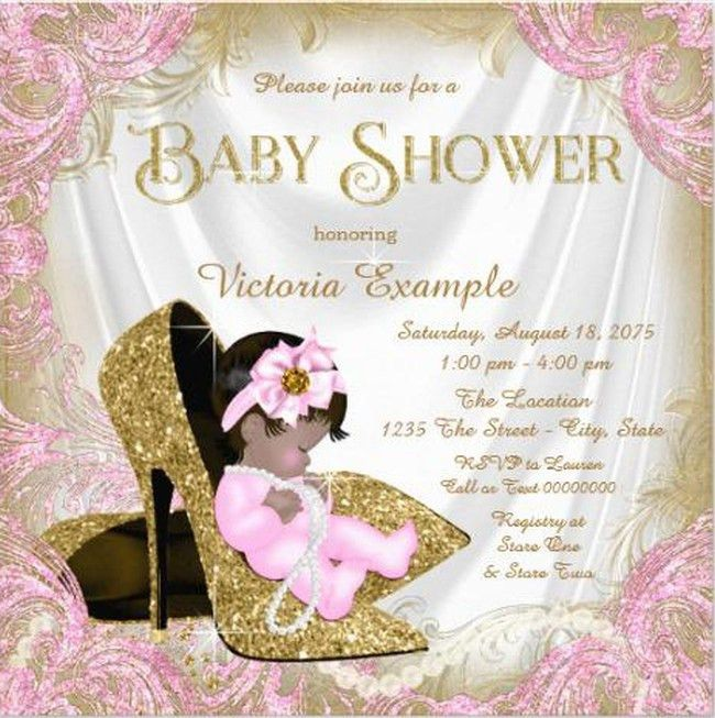 Baby Shower Invitations For Girls - marialonghi.Com