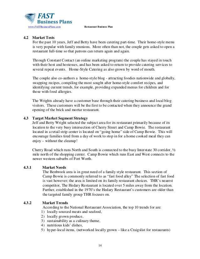 Restaurant business-plan-template