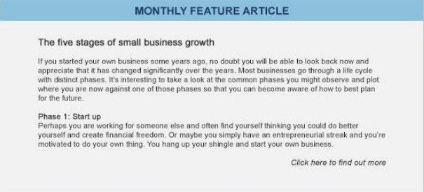 Free Business Reports | Business Performance | Cashflow Management ...
