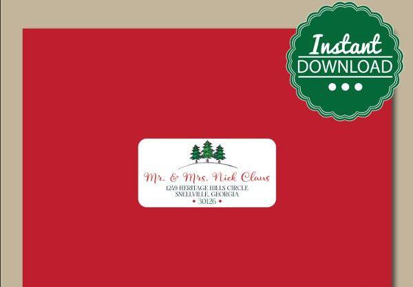 7+ Address Envelope Templates - Printable Word, PSD, PDF Format ...