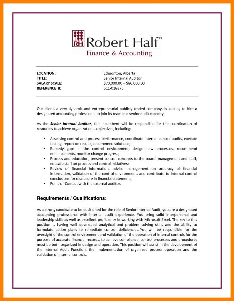 3+ internal job posting resume | science-resume