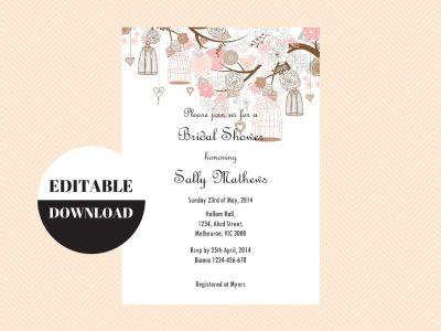 Editable Invitations - Download > Edit > Print - Magical Printable