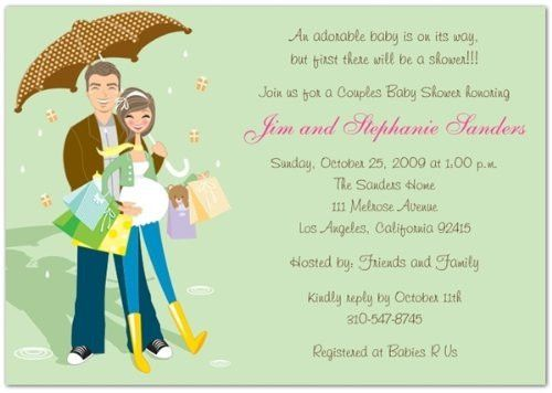 Couples Baby Shower Invitation Wording | THERUNTIME.COM
