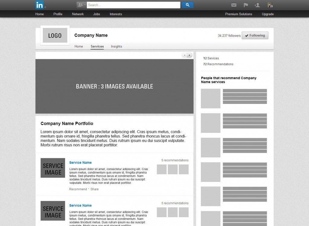 Create Your LinkedIn Company Page