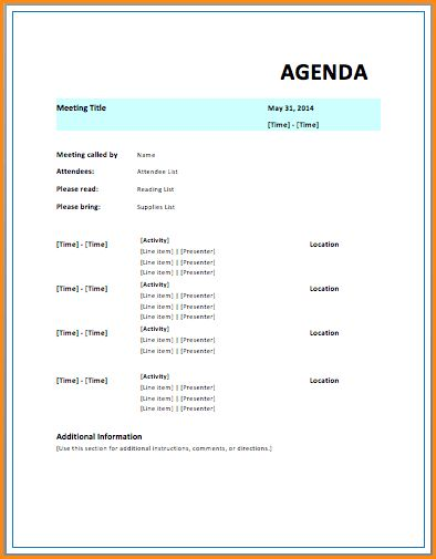Ms Word Agenda Template.Financial Meeting Agenda.png - Loan ...