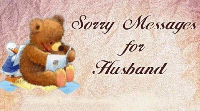 Sorry Messages to Husband, i'm sorry message for My Husband