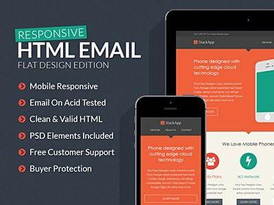 Derek Bess / Bucket / HTML Email Templates - Dribbble