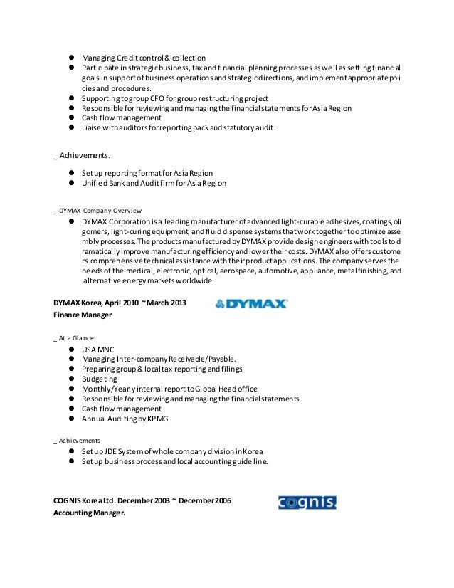 Sample Financial Controller Cover Letter] Finance Controller Cover .