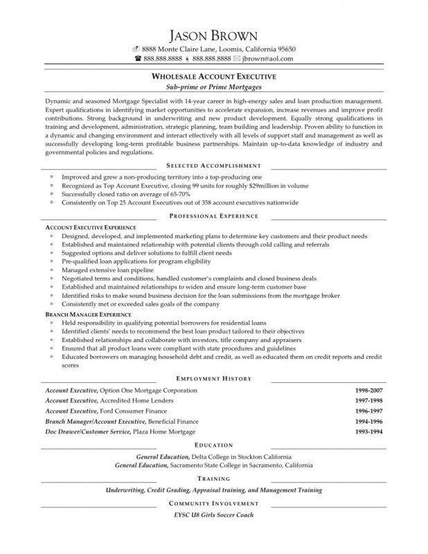 sale objective resume