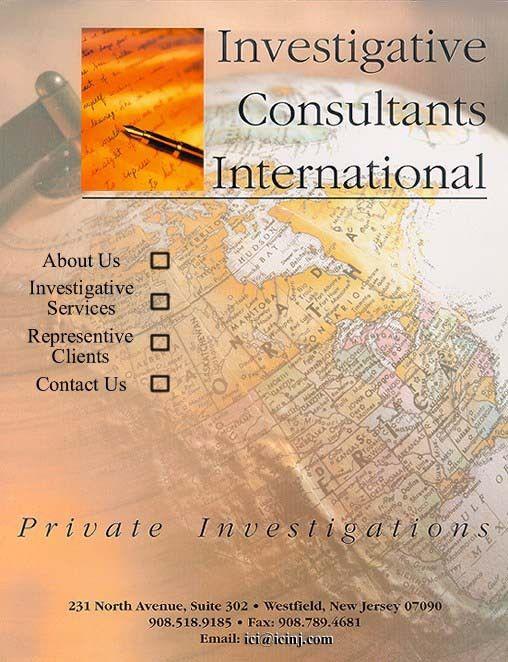 Investigative Consultants International: Private Investigators for ...
