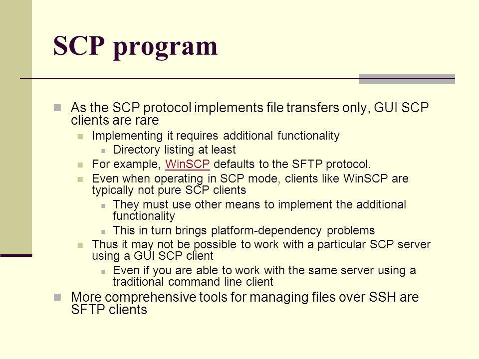 Secure Shell (and friends) From: - ppt download