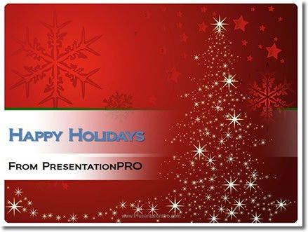 powerpoint template holiday christmas holiday powerpoint template ...
