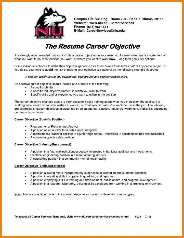 Career Objectives. Career Objective Nurse ...