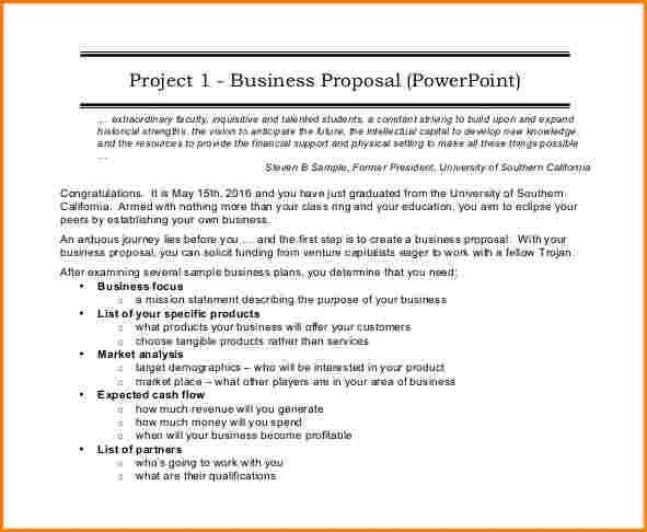 13+ business proposal format | worker resume