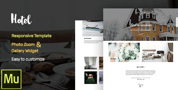 Minimal Adobe Muse Themes & Muse Templates from ThemeForest