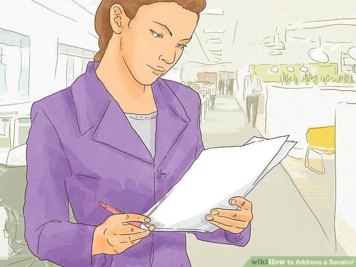 How to Address a Senator: 8 Steps (with Pictures) - wikiHow