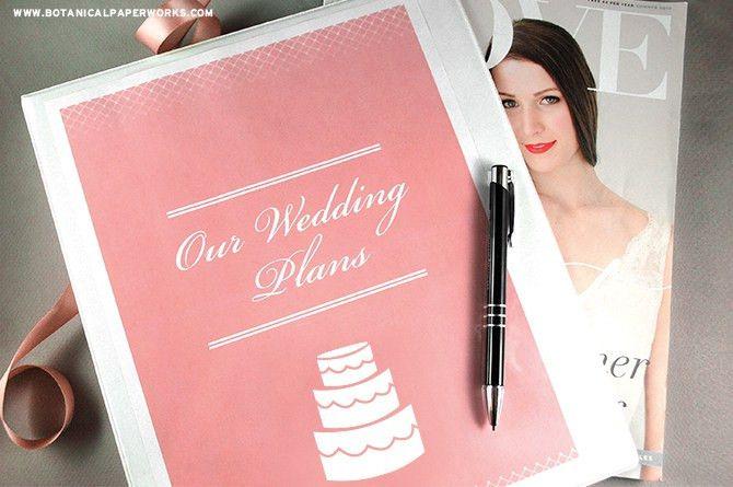 free printables} Wedding Planning Binder | Blog | Botanical PaperWorks