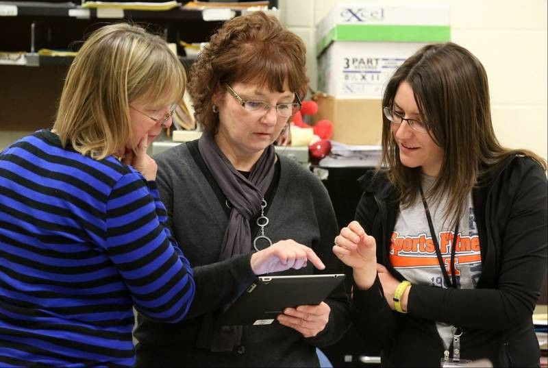 Moving Picture: Hersey librarian leads digital way for school