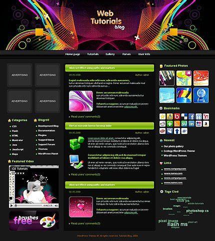 WordPress Layouts | WordPress Themes | WebsiteTemplates.bz