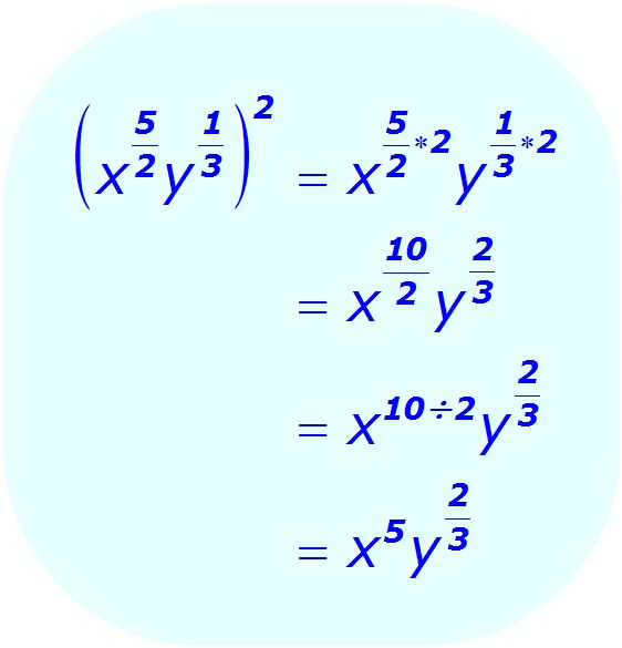 Exponent Rules - Distributive Property of Exponents . . .