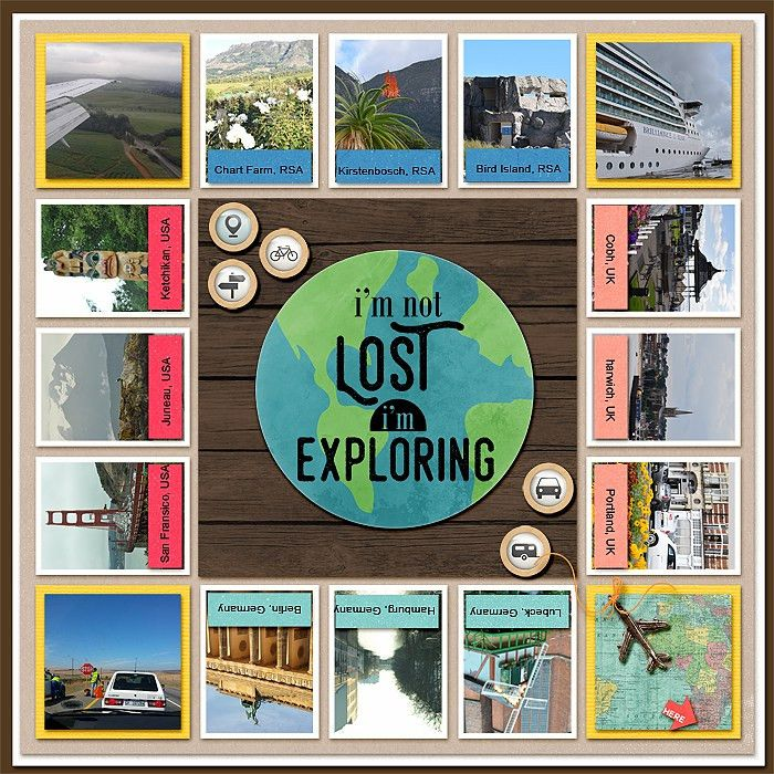 Scrapbook Page Design Choices Inspired by Board Games   Scrapbook ...