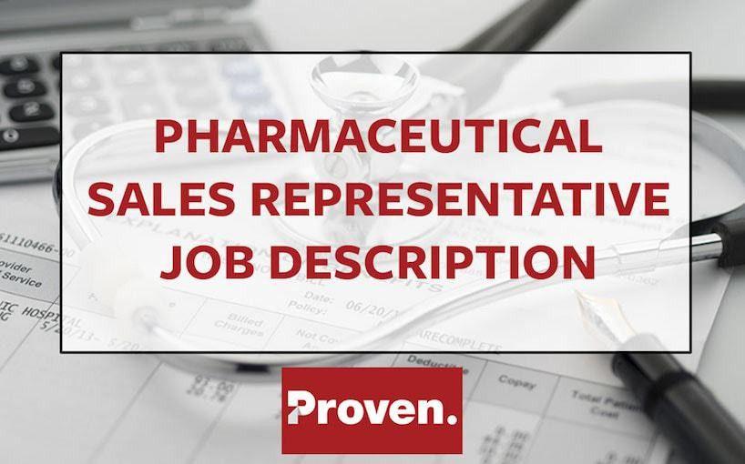 The Perfect Pharmaceutical Sales Representative Job Description