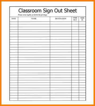7+ excel sign in sheet | resume reference