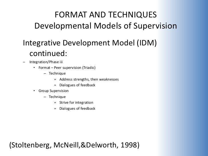 Developmental Supervision