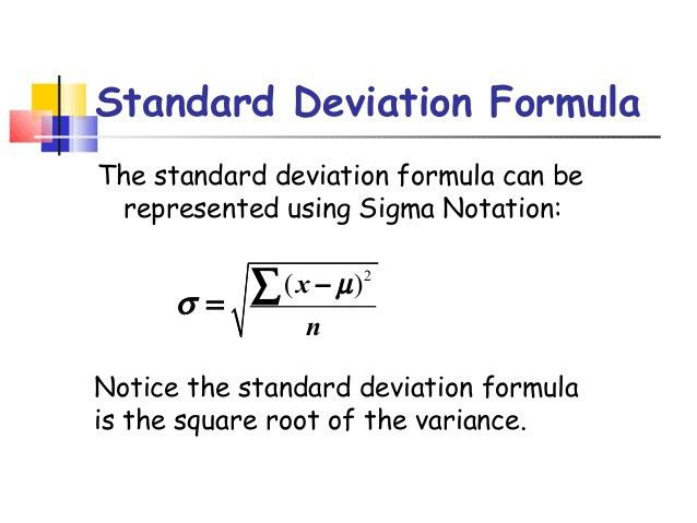 Standard deviation (3)