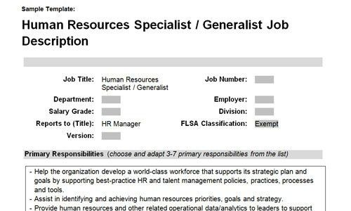 HR VP, director, manager and generalist/specialist job ...