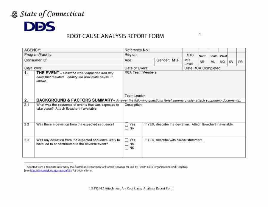 Analysis Template. Ic-Root-Cause-Analysis-Template Jpeg Root Cause ...