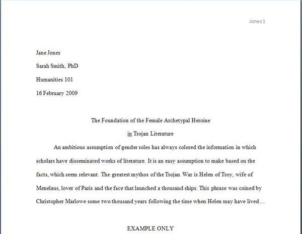 How to Write a Paper in the MLA Format | The Pen and The Pad