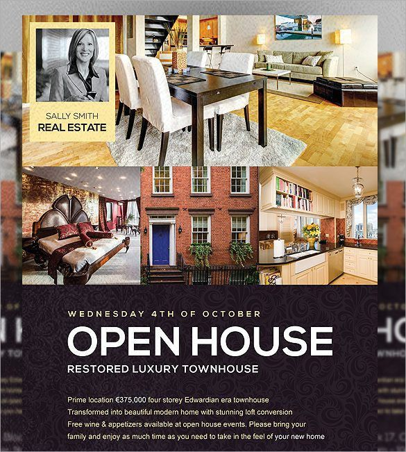 Open House Flyer - 18+ Download In PSD, PDF, Word