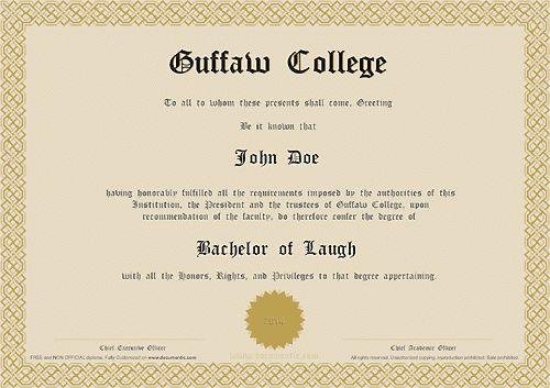 Documentic diploma maker
