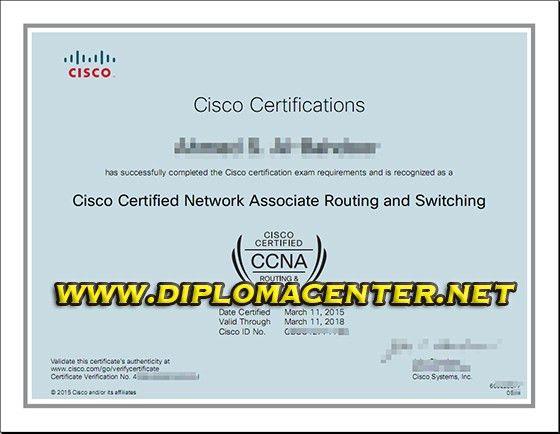 Cisco CCNA certificate, Cisco certified Network Associate Routing ...
