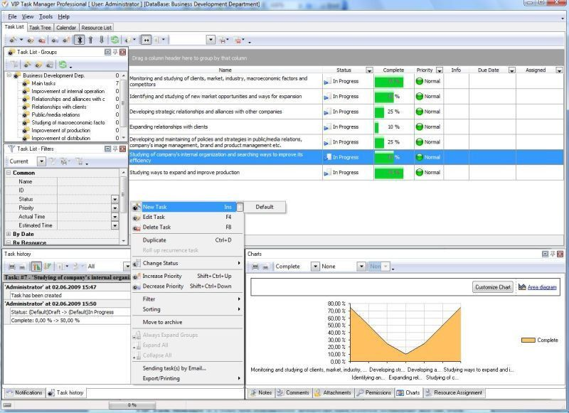 Work progress software - tool to support project manager by ...