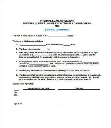 Simple Loan Agreement - 8+ Free PDF, Word Documents Download ...