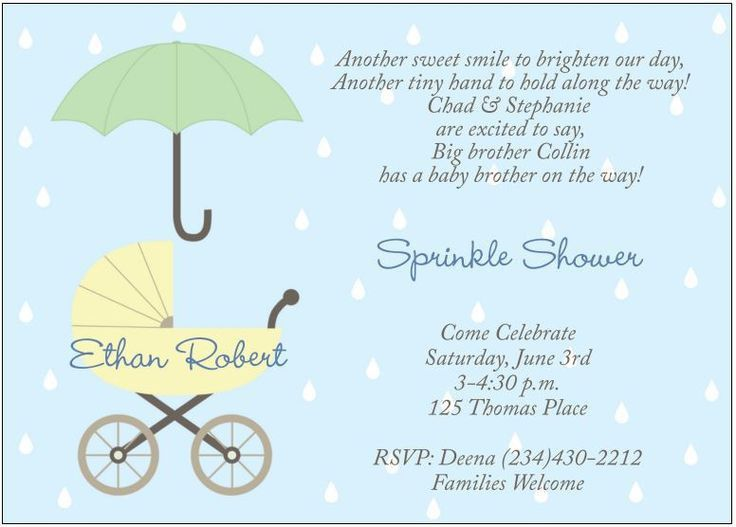 Baby Shower Invitation Wording For A Boy - marialonghi.Com