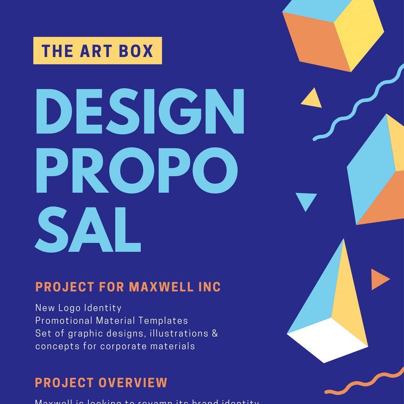 Free Online Proposal Maker: Design a Custom Proposal - Canva