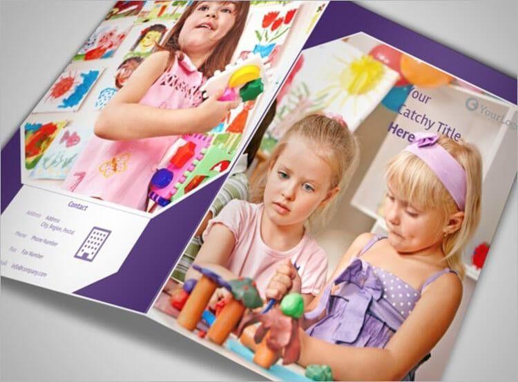 Daycare Brochure Templates | Free & Premium Templates | Creative ...