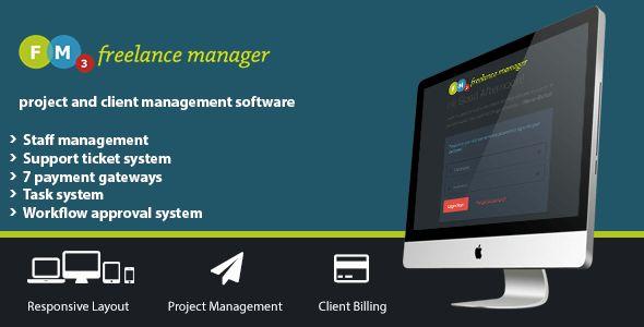 Freelance Manager by gewa13   CodeCanyon