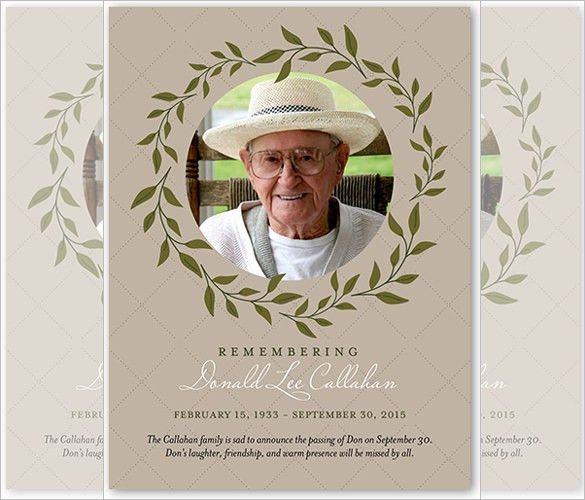 Sympathy Card Template - 17+ Free Sample, Example Format Download ...