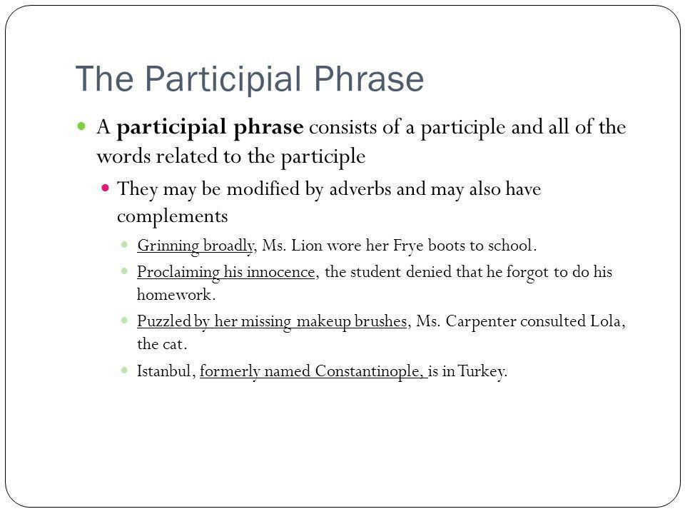 The Phrase. - ppt download