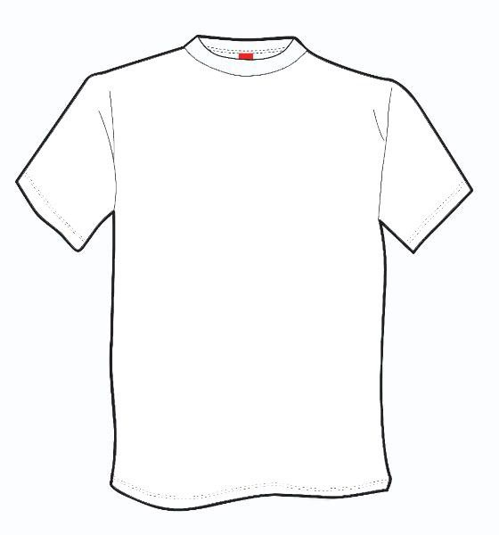 Outline Of A T Shirt Template | Free Download Clip Art | Free Clip ...