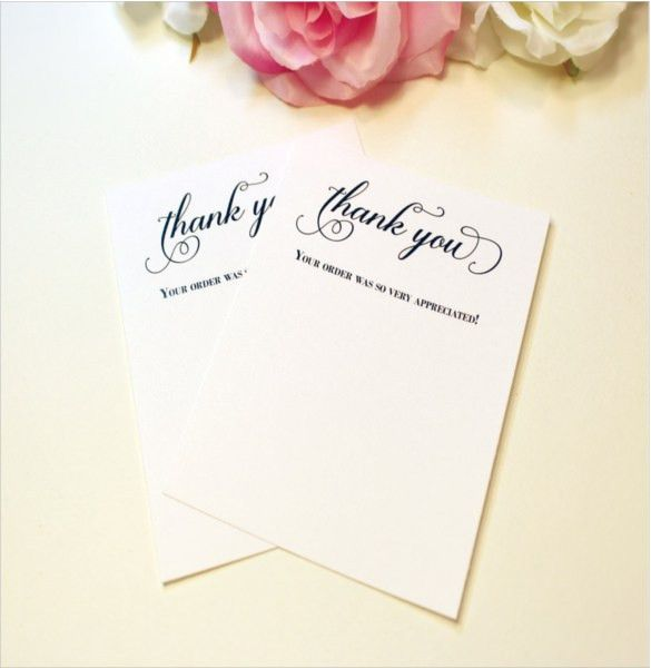 7+ Business Thank You Notes - Free Sample, Example, Format ...