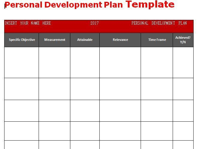 The 25+ best Personal development plan template ideas on Pinterest ...