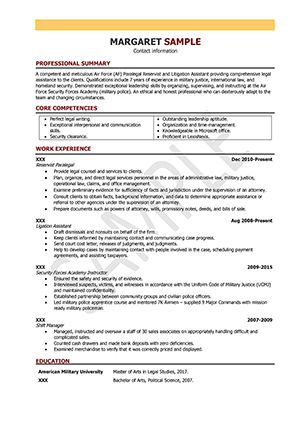 Paralegal Resume Samples and Writing Guide [10+ Examples] | ResumeYard