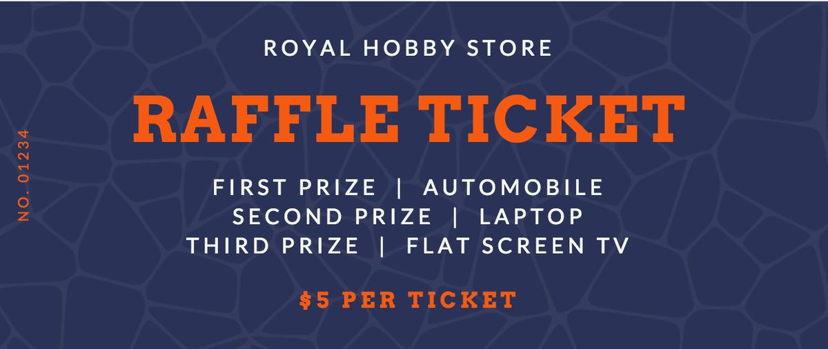 Free Online Raffle Ticket Maker: Design a Custom Raffle Ticket - Canva