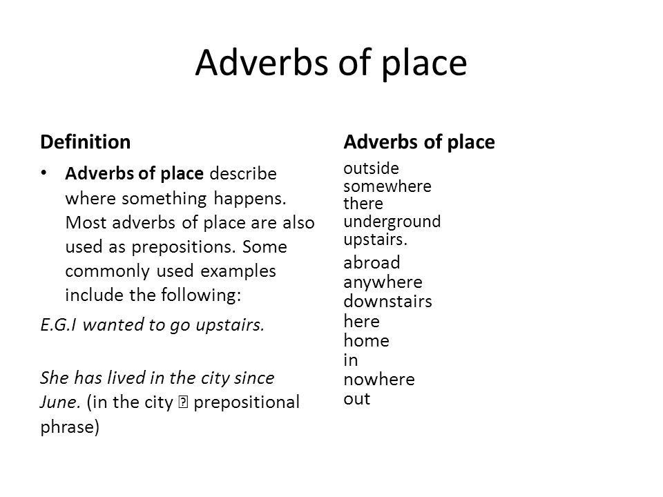 Adverbs. - ppt download
